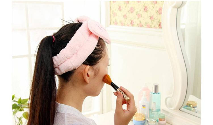 可爱大蝴蝶结化妆洗脸束发带