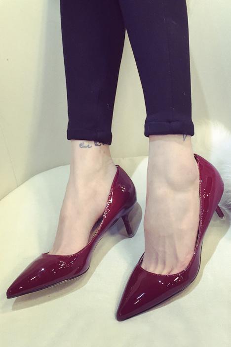 【露露】春季新款气质高跟鞋
