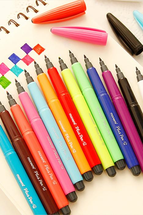 水彩笔,糖果色,小清新
