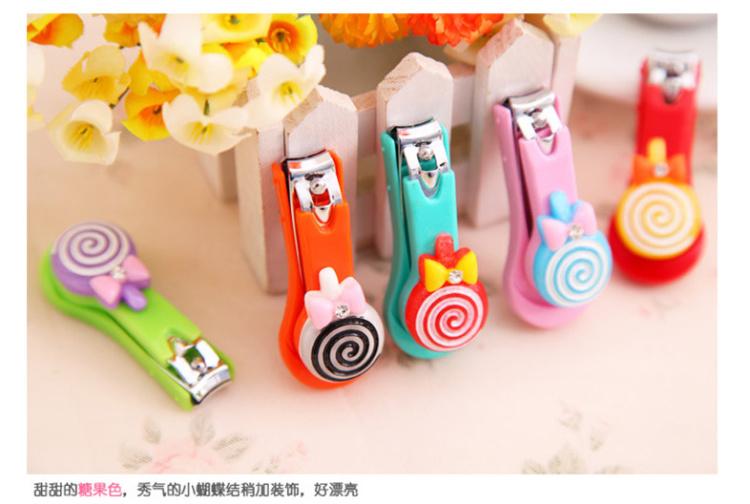 【韩国可爱棒棒糖指甲剪】-null-美妆工具/个护工具