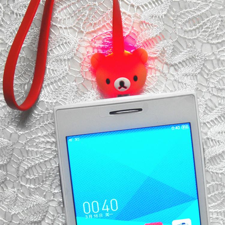 【三星小米安卓机 卡通发光数据线】-配饰-充电线