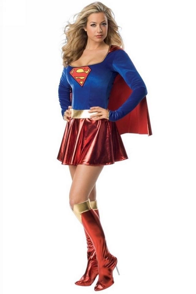 【superman女超人演出服】-衣服-唐装/民族服装/舞台