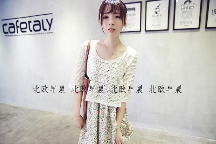 【森系小清新连衣裙套装】-衣服-裙子