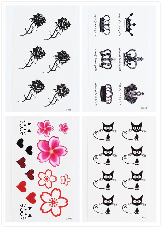 纹身贴使用方法图片展示