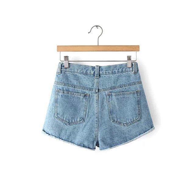 【牛仔短裤】-衣服-牛仔裤