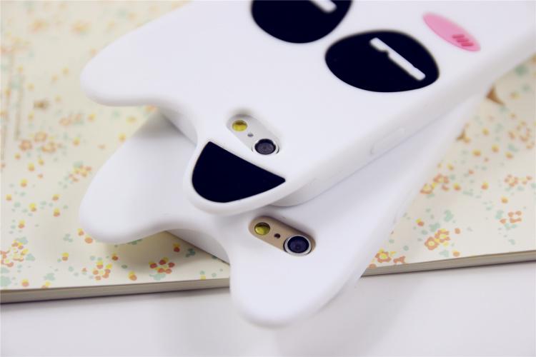 新款 可爱龙猫硅胶手机壳