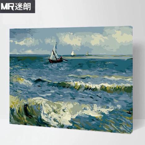 【数字油画 世界名画风景