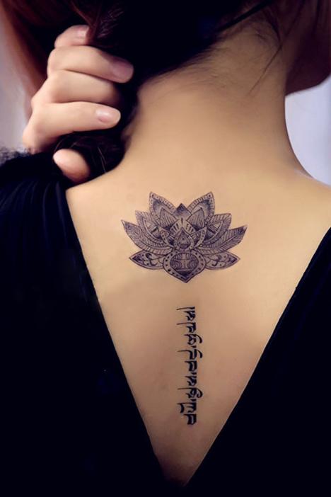 纹身贴,纹身贴纸,防水纹身贴,莲花纹身贴,梵文纹身贴,藏文纹身,佛教