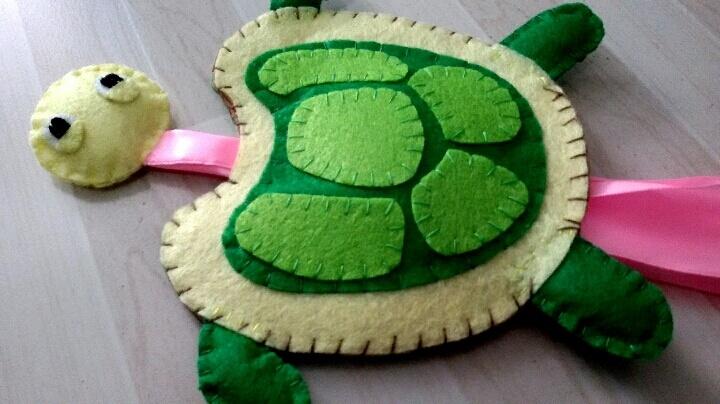粘土手工制作图片步骤乌龟