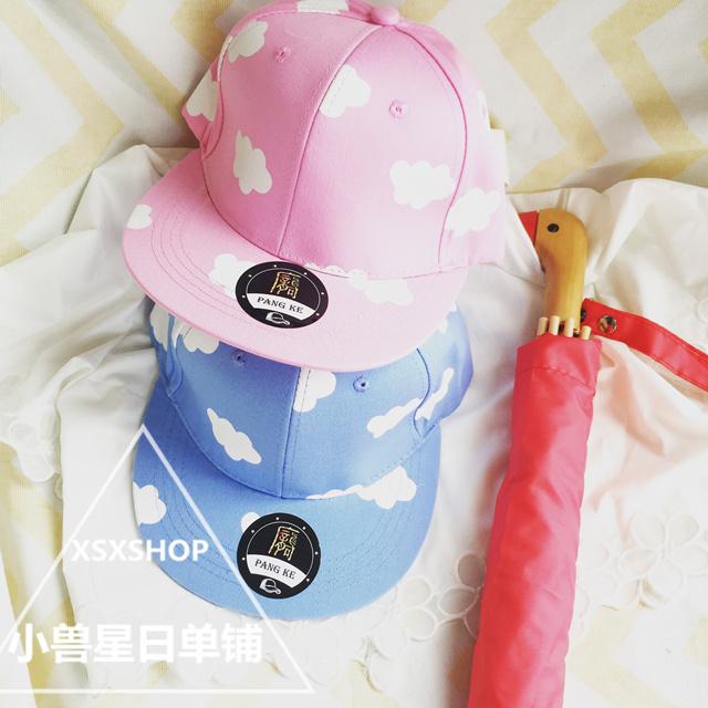韩国小清新云朵棒球帽