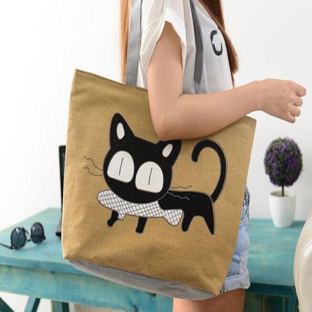 猫咪包包矢量图