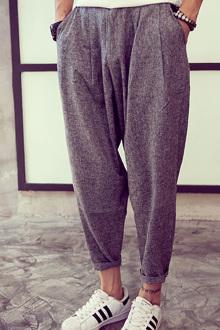 运动休闲裤搭配图片