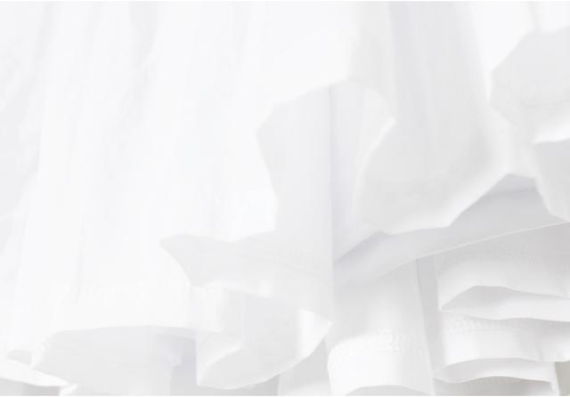 【原创森女森林系民族复古简约蓬松纯色纯棉白色半身