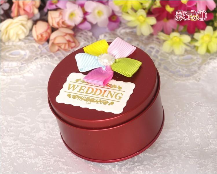 婚礼用品马口铁圆筒2015创意欧式喜糖盒子包装盒婚庆糖果盒