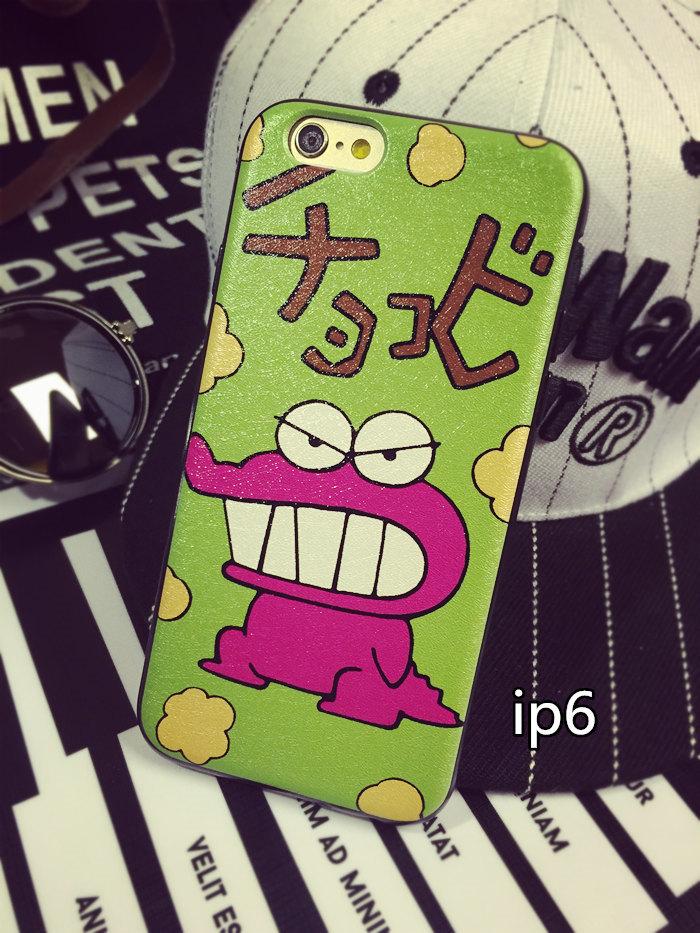 【蜡笔小熊iphone6硅胶手机壳苹果5