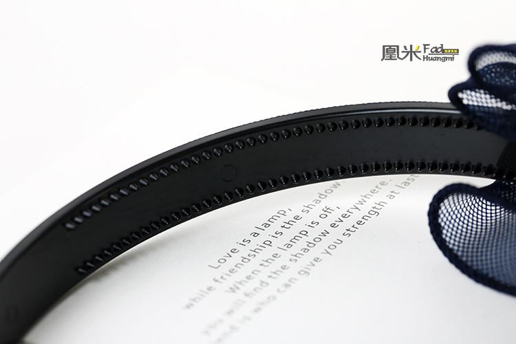 【韩国小清新蝴蝶结蕾丝发箍】-配饰-女士配饰