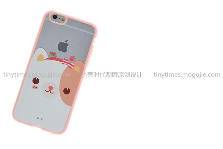 【可爱萌宠 苹果手机壳】-配饰-手机配件