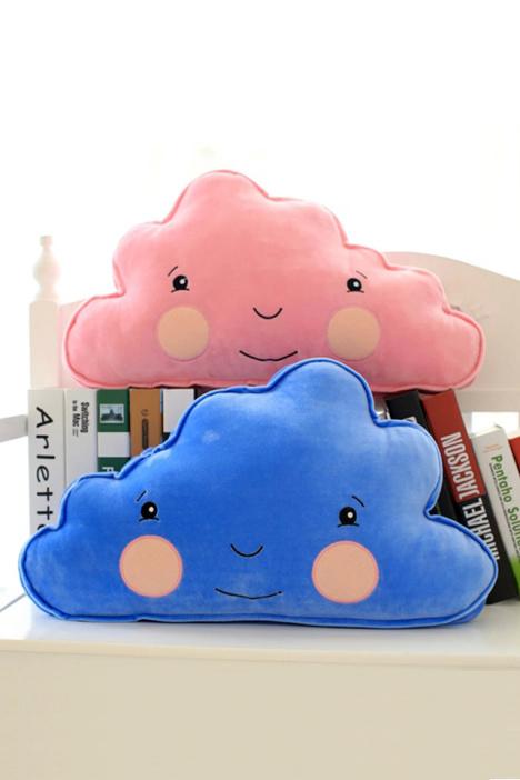 ikea宜家风格软绵绵可爱云朵抱枕