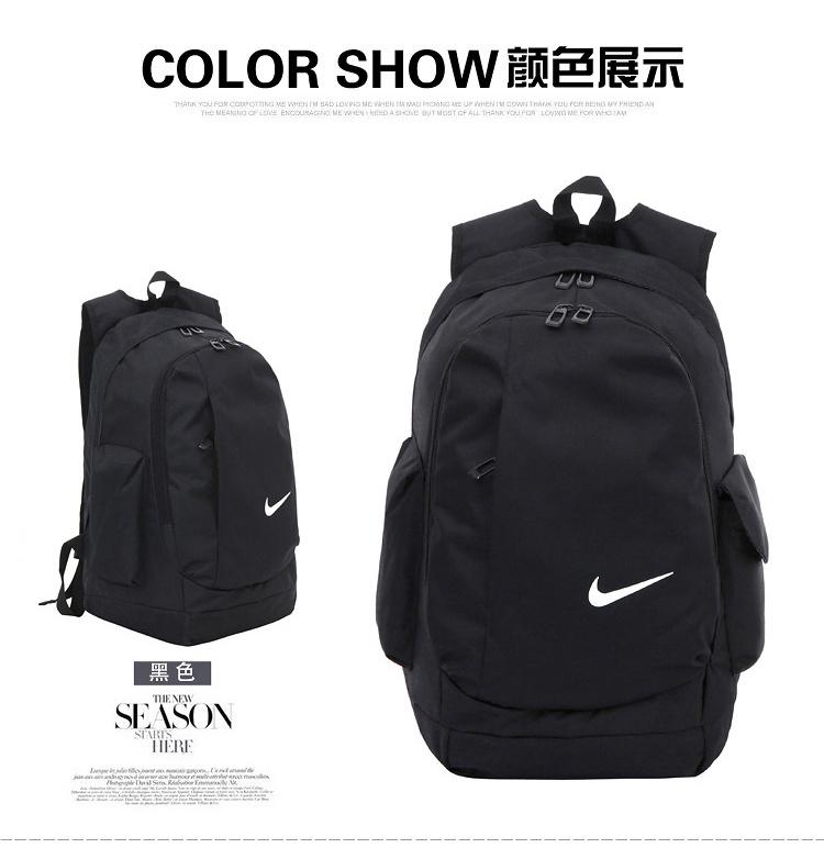 耐克大容量双肩包男女包新款旅行包大中学生书包电脑帆布时尚背包图片