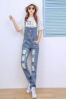 背带裤:2015新款背带裤衣服单品购买