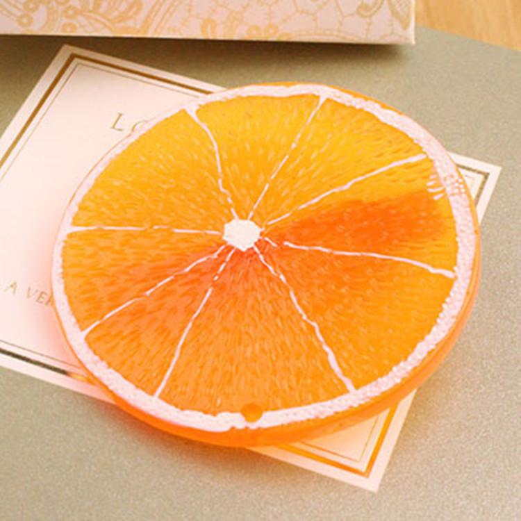 【满15元包邮 】柠檬片原宿可爱发饰软妹田园小清新水果发圈