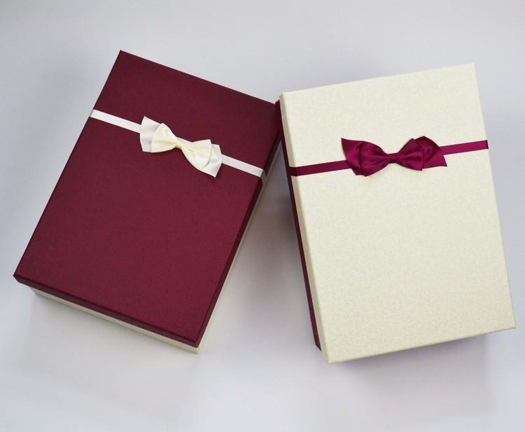【送礼物礼品盒长方形盒子礼品盒情人节大号礼盒收纳