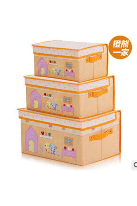 【无纺布收纳盒】-家居-百货