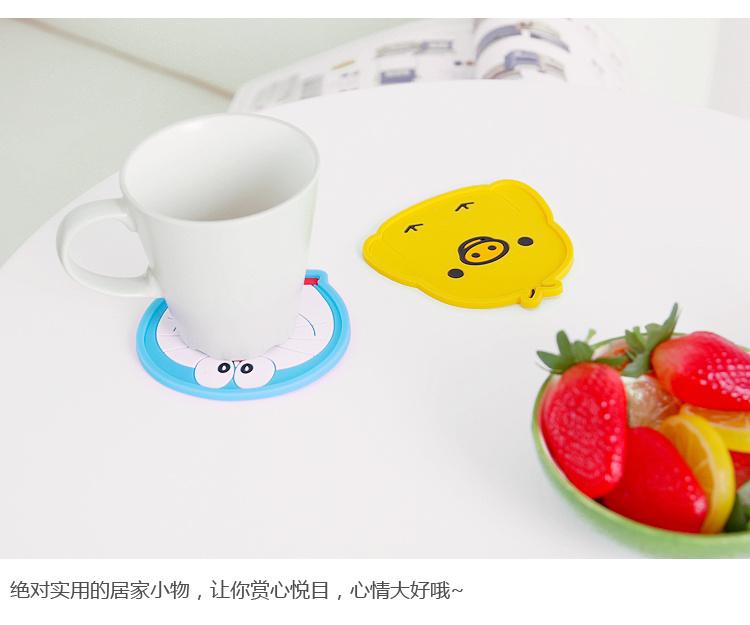新款卡通动物造型杯垫】-null-百货