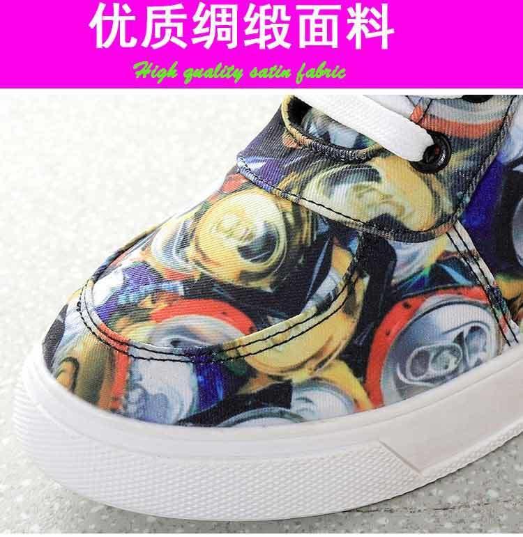 【易拉罐印花高帮休闲鞋】-鞋子-休闲鞋_女鞋_服饰鞋