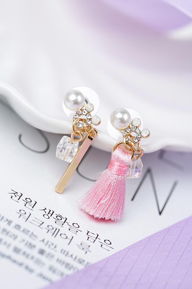 可爱公主风流苏耳环