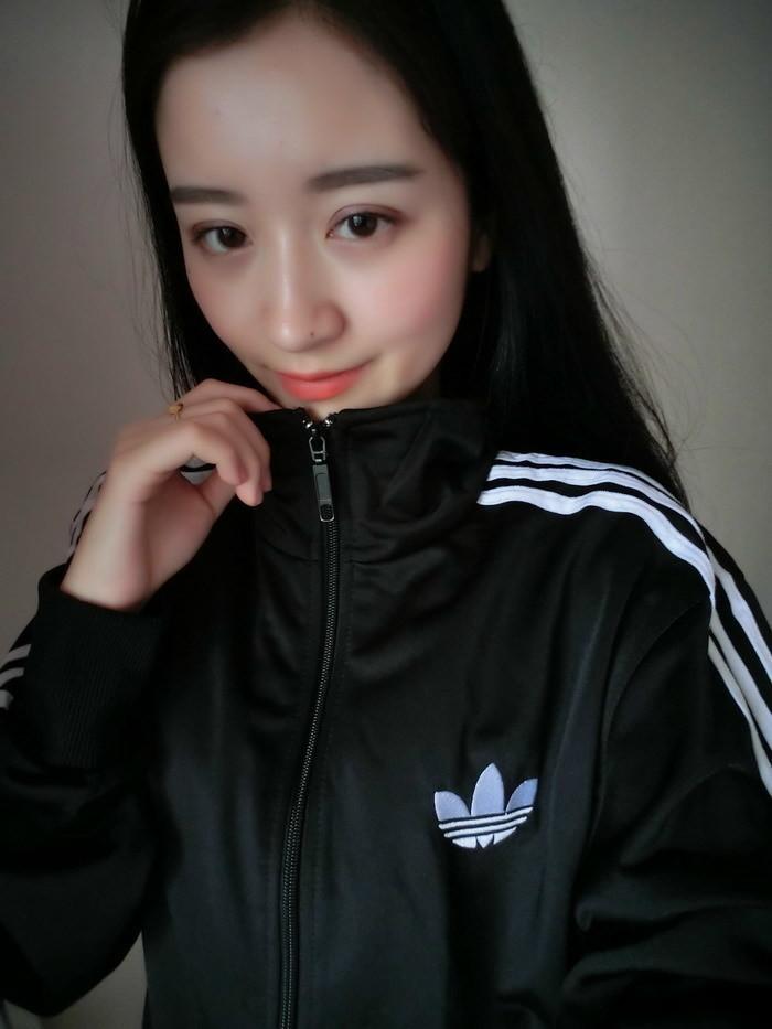 ulzzang韩版早秋新款男女三叶草原宿风bf外套 情侣卫衣