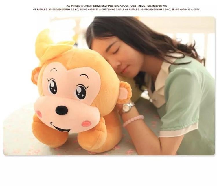 【卡通可爱猴子 毛绒玩具