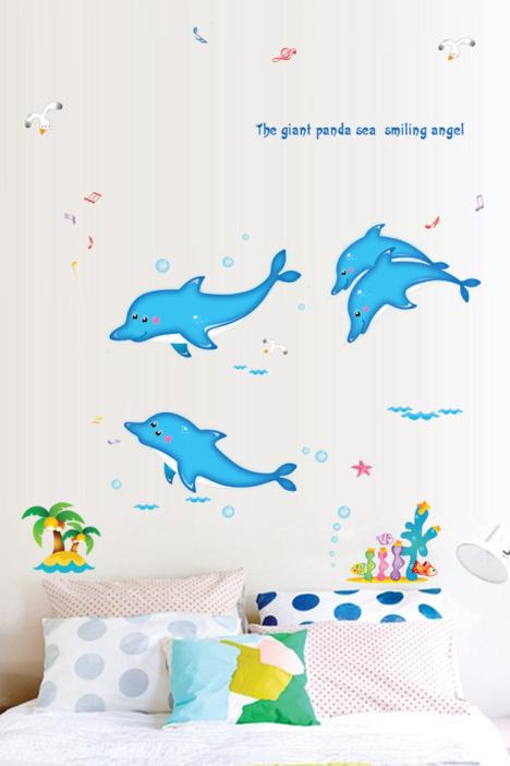 中班海洋动物主题墙