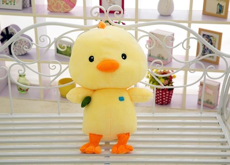 【小黄鸭可爱小黄鸡 超萌小鸡仔抱枕