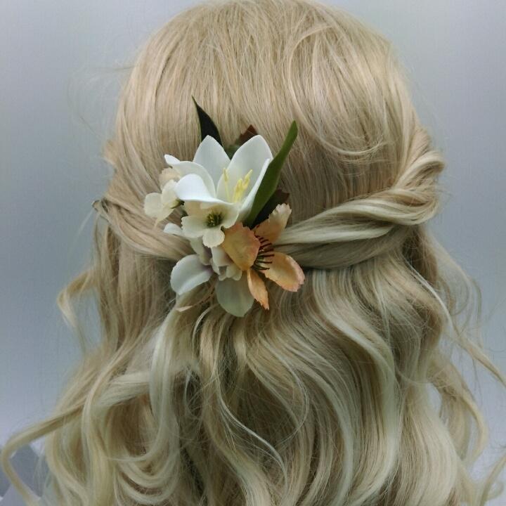 小清新小夹子头饰,森林系头饰,唯美新娘头饰可多种造型用