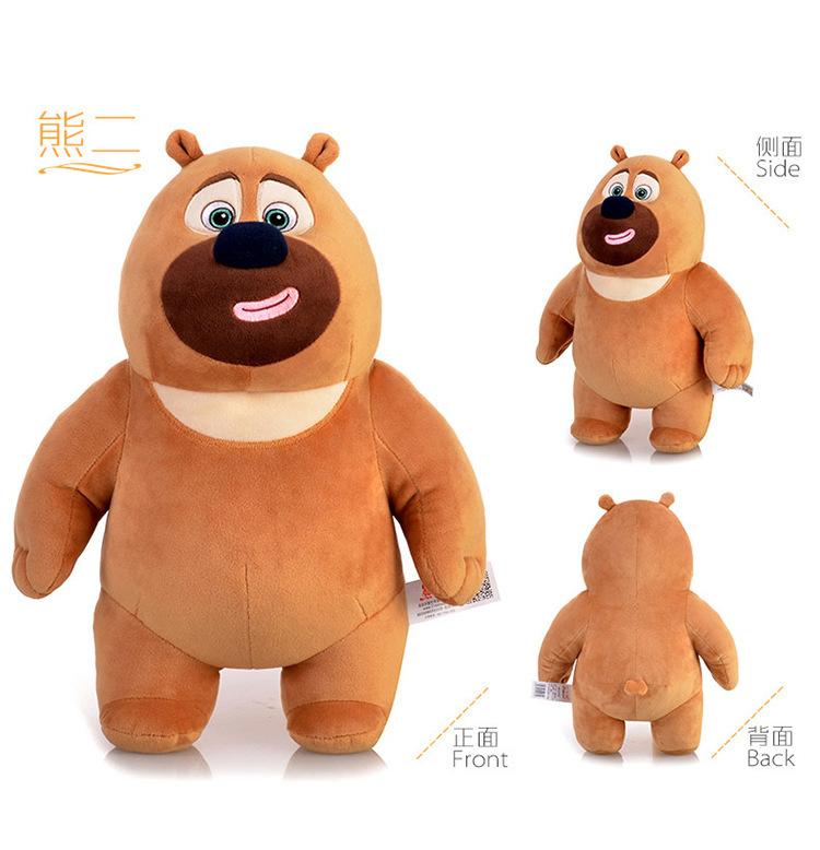 熊出没大白熊简笔画 熊大熊二大白熊