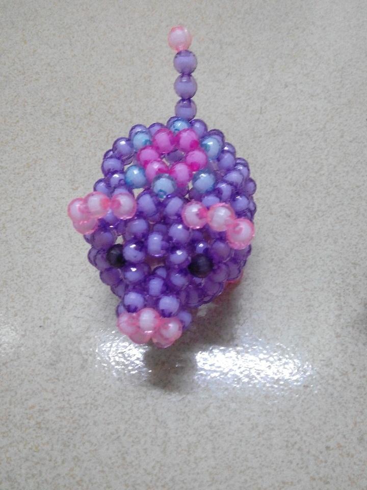 《花猪》diy手工串珠创意小猪