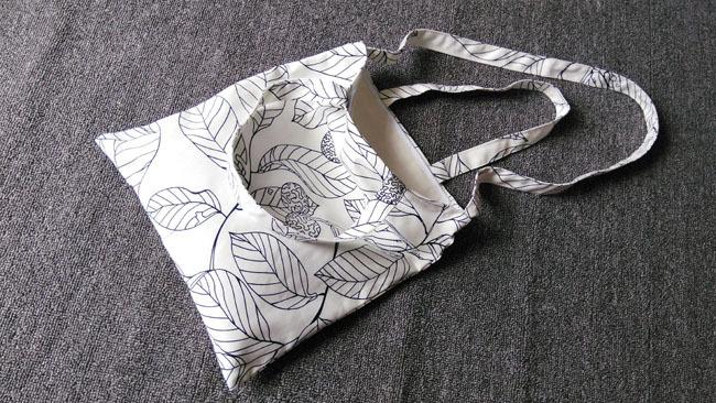 【空山新雨】手工文艺小清新线描叶子帆布单肩斜跨包两用