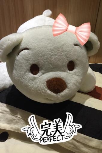 可爱白白胖胖小狗熊
