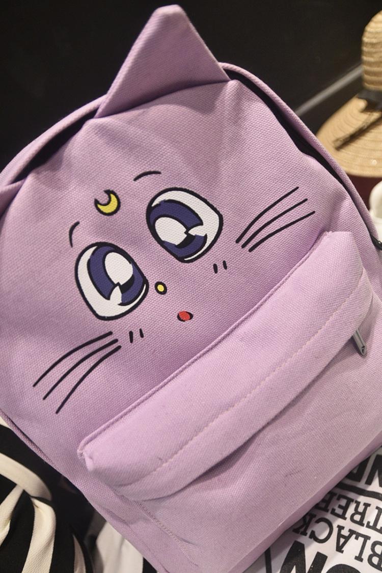 【韩版休闲原宿风美少女战士学生背包】-包包-双肩包