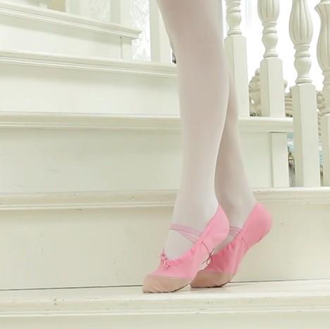 软底舞蹈鞋 儿童猫爪芭蕾舞蹈鞋 形体鞋