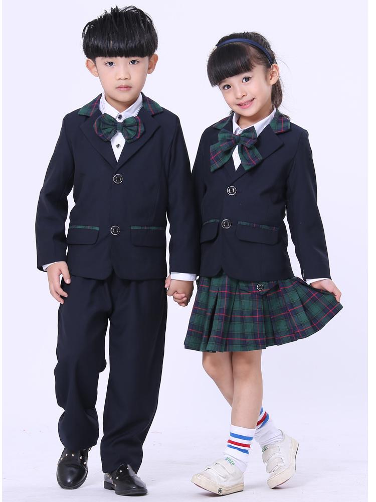 儿童英伦校服合唱服礼服