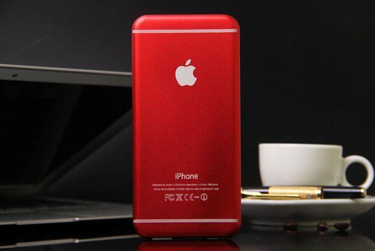 【超薄6充电宝苹果6手机外形移动电源小米