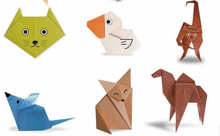 儿童折纸大全 幼儿手工剪纸书折纸书儿童剪纸diy立体手工书籍