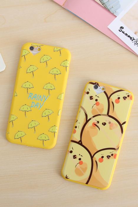 【★暴走草莓★可爱卡通糖果色浮雕硅胶iphone6手机