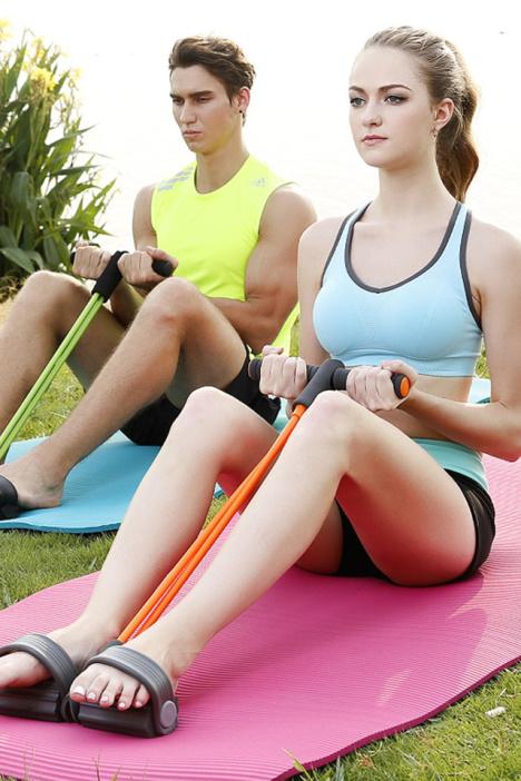 【◆瘦腿健身神器◆ 脚蹬拉力器】-家居-百货