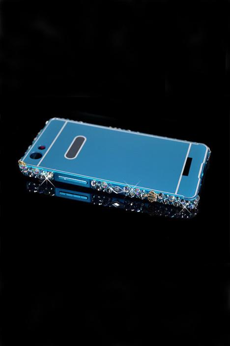 定制oppoa31u a31t 水钻超薄金属边框后盖手机壳