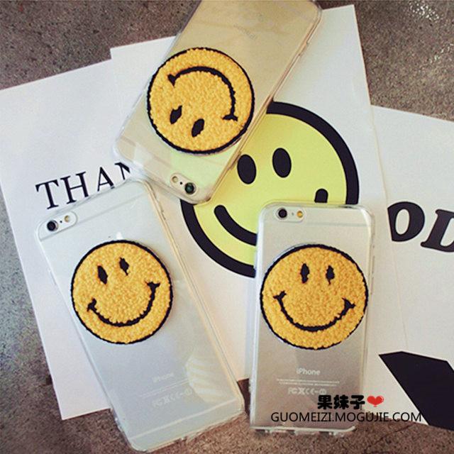 【韩国人气笑脸苹果三星手机壳】-配饰-3c数码配件