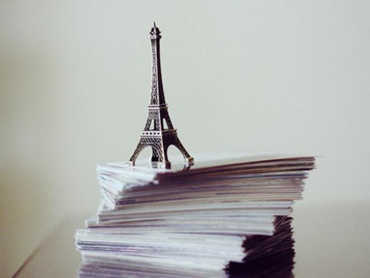 【法国巴黎埃菲尔铁塔金属模型装饰摆件文艺家居摆件