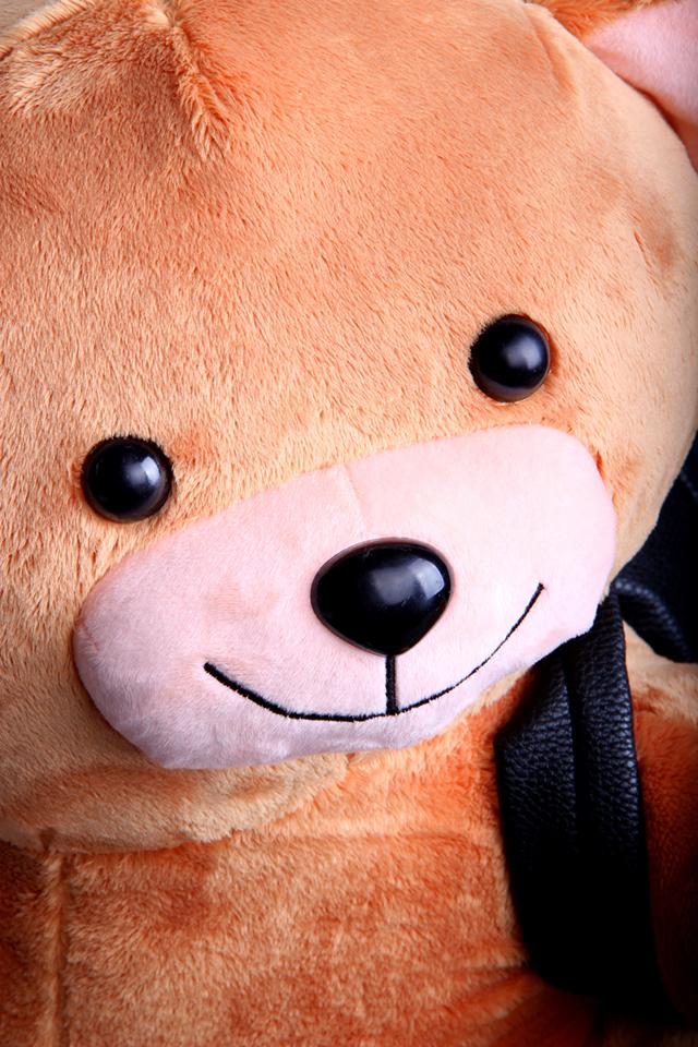 可爱呆萌潮流毛绒小熊双肩包